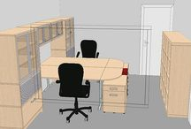 Office Layouts & Designs / Different office layouts and designs for ideas on how to arrange business and creative space