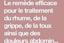 REMEDE RHUME GRIPPE ECT ...