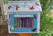 Little Free Libraries / Little Free Library facilitates paperback-based neighborly bonding by encouraging people to post a wooden box in a public space, fill it with books, then invite other citizens to take one book and replace it with another.
