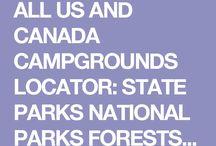 Us Canada campsites