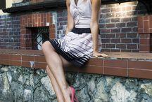 Feel like a star / Power dressing! Because I saw similar skirt wearing by Victoria Beckham ! And Dorota Gardias, from Poland, has the same colour heels like me :)  kolekcjonerkabutow.pl elikshoe.blogspot.com facebook.com/elikshoe