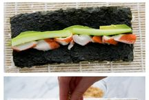 Sushi/Spring Roll Recipes / by Rebecca Lauren