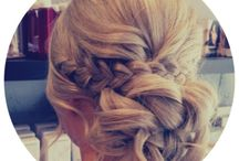 Hair ups! ... / Some done by our stylists and some inspiring looks too! X