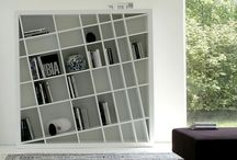 Bookcases & Shelves / Modern and contemporary linear bookcases made in Italy with the highest quality materials
