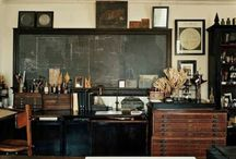 The Steampunk Office / I would love to create a steampunk office in my home. Here's some ideas that I have found.