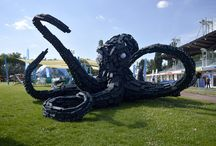 """Varázserdő 3.  – """"Kőmorzsoló"""" – ,""""Magic Forest"""", Giant open air landmark statue"""