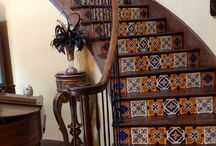 Handpainted Tiles and Projects