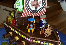 Kuchen Piratenschiff