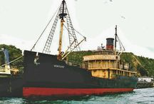 Statki handlowe, towarowe, pasażerskie