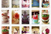Weddings / Beautiful wedding cakes created by celebrations cakes by kelly. Find me on Facebook or call 07530747828
