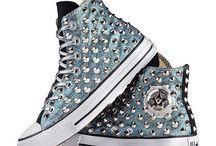 scarpe borchie