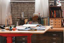 Drafting Tables, Art Studios