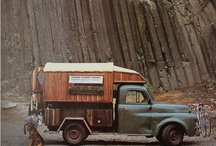 Nomadic / House trucks, truck campers, tiny mobile living, custom RVs, off grid, sustainable life. / by Faunalia