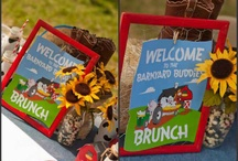 Barnyard Farm Party Ideas / Barn and Farm Animal Party Inspiration  / by In Flight ~ Mayra Rivera