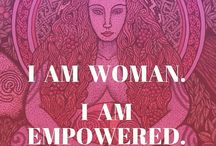 Womens Empowerment, Happiness & Wisdom / Inspiring words to uplift and encourage women to remember just how amazing they are!