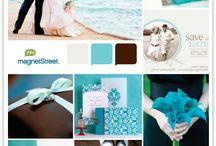 {colours} - 8. brown, aqua & dusk blue