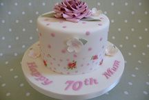 70th cakes