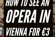 Vienna Travel Tips / The ultimate Vienna bucket list.