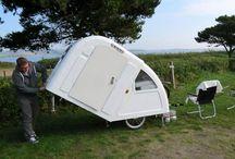 Fahrrad-Campinganhänger / bike camper trailer / Camping mit Fahrrad-Anhänger