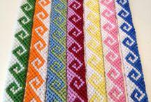 naramky pletene