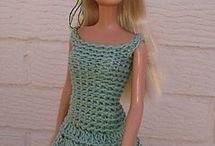 barbie crochê