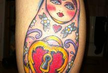 Russian Doll Tattoo Inspiration