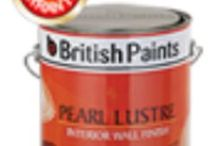 Decorative Paint from British Paints..... / British Paints offer a wide range of decorative paints for you along with this it's giving you chance to make your house more beautiful with the help of Wall Putty, Waterproofing, Industrial Coating
