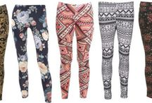 Printed and Patterned Leggings