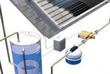 Solar water heater / Thembi