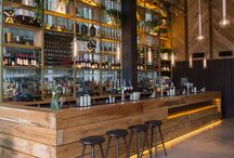 Restaurant bar design