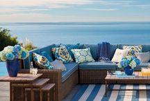 Backyard seating