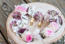 Wedding ring board / box
