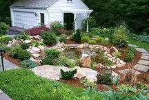Outdoor Decorating / Outdoor spaces, wreaths, and other decor.