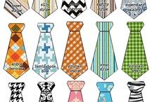 Tie Onesies for Boys