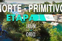 CAMINO DEL NORTE - PRIMITIVO / Camino del Norte - Primitivo en 16 Etapas en bicicleta. Fotos y vídeos