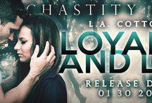 Chastity Falls Series / Chastity Falls is a NA College Series: Book #1 Loyalty and Lies - out now, Book #2 Salvation and Secrets - out now, Book #3 Tribulation and Truths - coming August 2015 / by L.A Cotton
