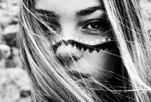 Bohemian face painting / Young wild and free
