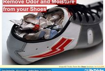 Shoes- Hacks, Tricks and Tips / These shoe hacks will keep your footwear in good condition and give you great ideas on how to store them.