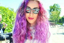 Rainbow Hair / The best rainbow hair solutions, including how to maintain and dye your hair bright colours
