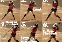 Softball Drills / Aiming to be the best softball player will need some awesome drills to work with.