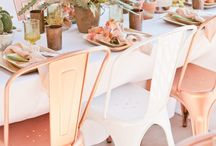 Rose Wedding Ideas and Inspiration / Rose and Rose Gold wedding ideas and inspiration