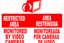 Security Signs / Security signs for business & personal needs.