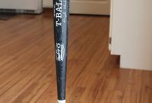 Baseball bat table / Table