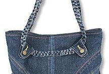 Recycle Jeans / bag, skirt etc