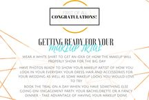 Wedding Biz / Things to help my work as a bridal makeup artist go more smoothly