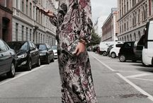 Odette maxi dress in Paisley Black // Dea Kudibal // AW 16 // La Femme Allure