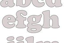 feltro alfabeti