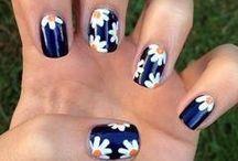 Цветы синий
