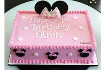 mini mousse birthday cake