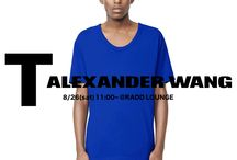 T by Alexander Wang – SS 15 4th collection start.